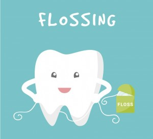 flossing image